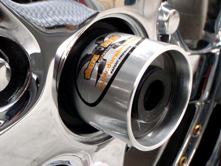 Durahub Extreme Bearing Protectors on Hubcap